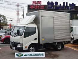 トヨタ トヨエース アルミバン 2t積10尺 4.0Dターボ AT サイドドア バックモニター