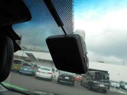 フロントドライブレコーダー装備してます。