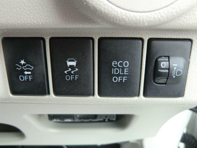 アイドリングストップ機能付なので低燃費で経済的です♪お財布にも優しいお車です♪