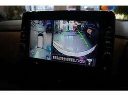 アラウンドビューモニター付きで全方位カメラ搭載!衝突軽天装置も標準装備です。