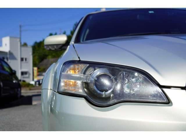 Bプラン画像:【HIDライト】が装備されております。夜道も大変明るいです♪