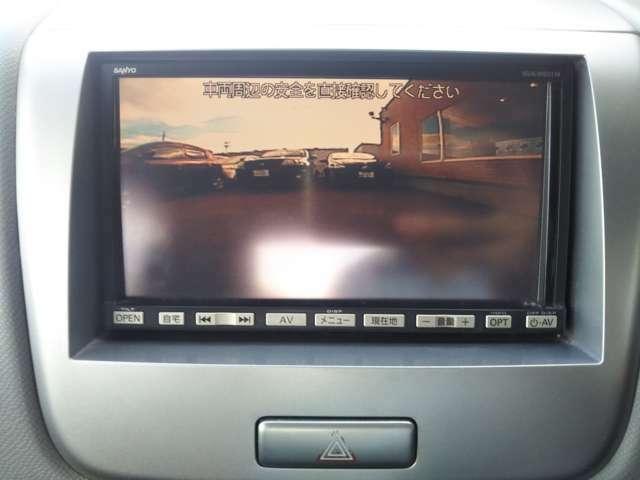 Bカメラ装備で、縦列駐車や車庫の出し入れを小型カメラで心強くサポートしてくれます♪目視より広範囲に上下左右をカバーする視野角で、より安全・安心に運転が可能になりますね♪