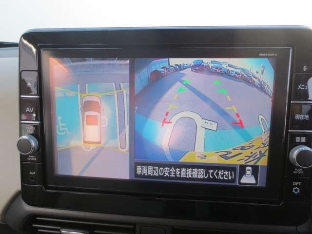 ナビもついていますよ☆アラウンドビューモニターで駐車も安心☆