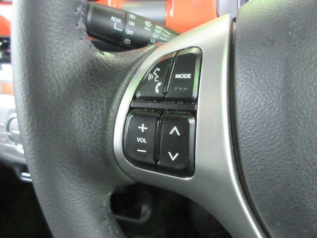 ハンドルにはオーディオコントロールスイッチ付きです