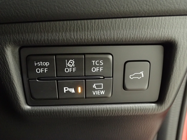 車線逸脱警報システム、隣車線上の後方から接近する車両を検知するとドアミラー鏡面にインジケーターが点灯するブラインドスポットモニタリング付と最新の安全技術をご体感下さい!