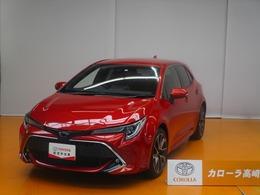 トヨタ カローラスポーツ 1.2 G Z 元試乗車 Tコネクトナビ フTV