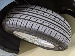 タイヤの溝も十分確保されており、長く安心してお使いいただけます!