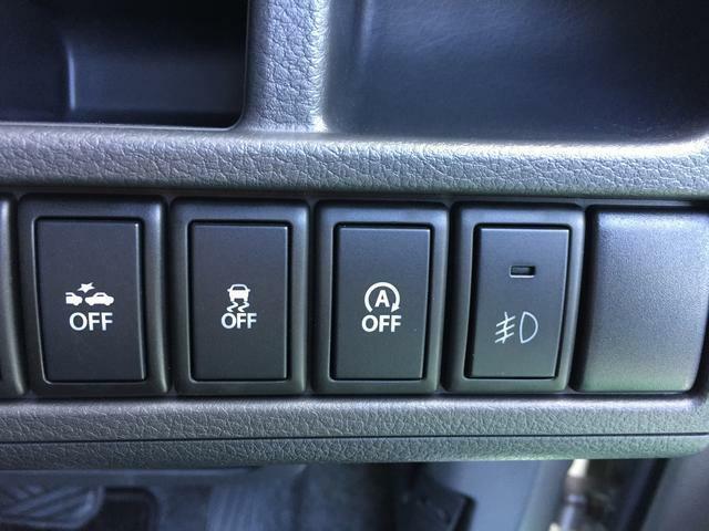 フォグランプのスイッチもあります。