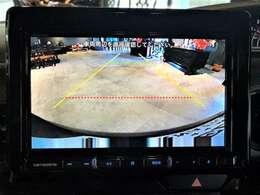 ナビゲーションに連動してバックカメラもご利用いただけます。