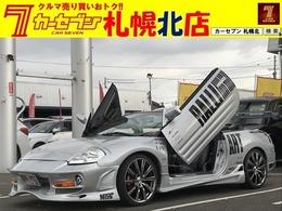 三菱 エクリプススパイダー 3.0 GTS BOMEXエアロ専用ガルウィング19アルミETC
