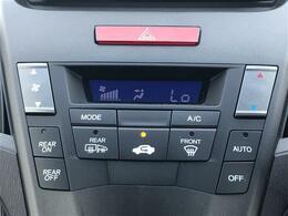 【オートエアコン】車内温度を感知して自動で温度調節をしてくれるのでいつでも快適な車内環境を創り上げます!