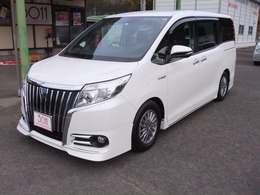 トヨタ エスクァイア 1.8 ハイブリッド Gi 新品車高調 純正9インチ 1年保証 禁煙車