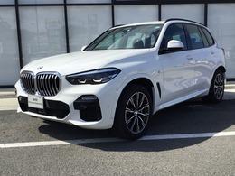 BMW X5 xドライブ 35d Mスポーツ 4WD 試乗車 黒レザーACC電動トランク地デジ
