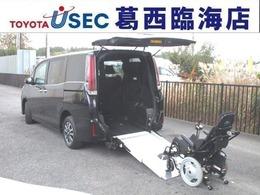 トヨタ エスクァイア 2.0 Xi ウェルキャブ スロープタイプ タイプIII 電動ウェルチェア+ワンタッチ固定仕様 TSSC LED 左側パワースライド リアAC