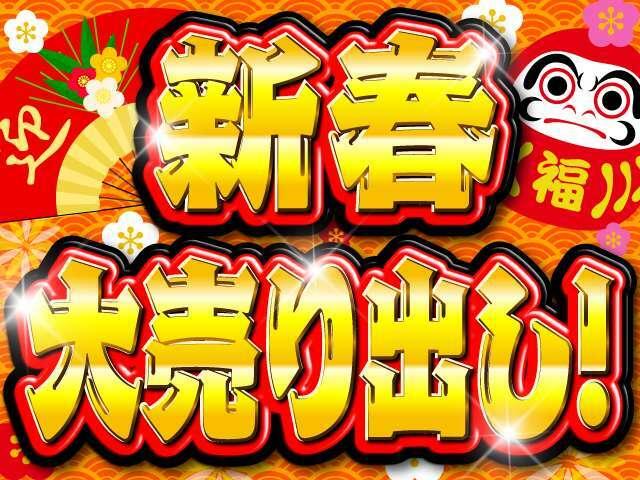 新春!大売り出し!!☆日頃の感謝を込めて☆令和3年最初のセール実施中!!売切れ御免のお買い得価格になります、お見逃しなく♪