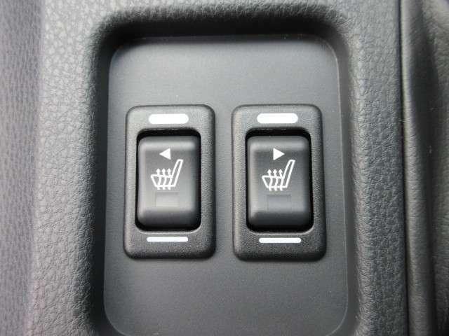 運転席&助手席シートヒーター機能付き♪ 冬場も暖かくしてくれます♪