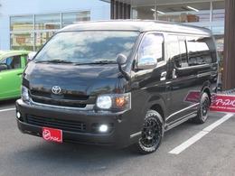 トヨタ ハイエースバン 2.7 スーパーGL ワイド ロング ミドルルーフ 4WD 買取 4WD ベットKit 社外16AW&ライト ナビ