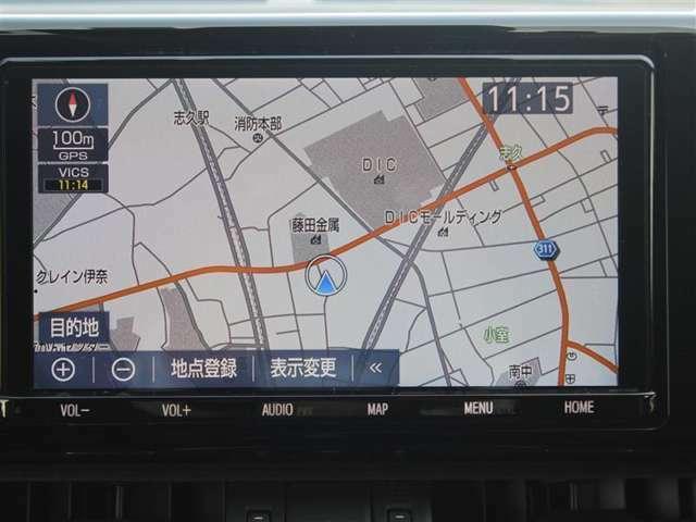 Y68Tトヨタ純正9インチSDナビ!TVはフルセグ視聴可能!ブルートゥースオーディオ、DVD再生、SD、USB。HDMI接続端子付!