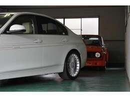 弊社はアルピナ・BMWをメインに装備やグレードを選び抜いた車両を、ご提供させていただいております