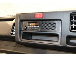 ラジオ機能付き