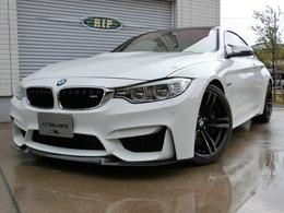 BMW M4クーペ M DCT ドライブロジック CSカーボンリップ ローダウン M可変サス