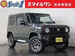 スズキ ジムニー 660 XC 4WD 新車/純正オプション10点付 8型ナビ