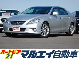 トヨタ マークX 2.5 250G Sパッケージ リラックスセレクション 純正ナビ・前席Pシート・HID・純正18AW