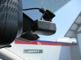 イザという時の強い証拠となる純正ドライブレコーダー(前後)!あおり運転や後方からの衝突事故への対策になります。