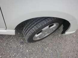 タイヤの溝あります。