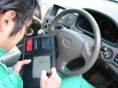 車両電子システム総合故障診断器・X-431を導入、各メーカー・外車メーカーに対応お客様のお車のトラブルを正しく判断します。