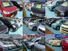 ☆★お得な軽未使車ちょいのり車を随時約70台以上展示中★☆