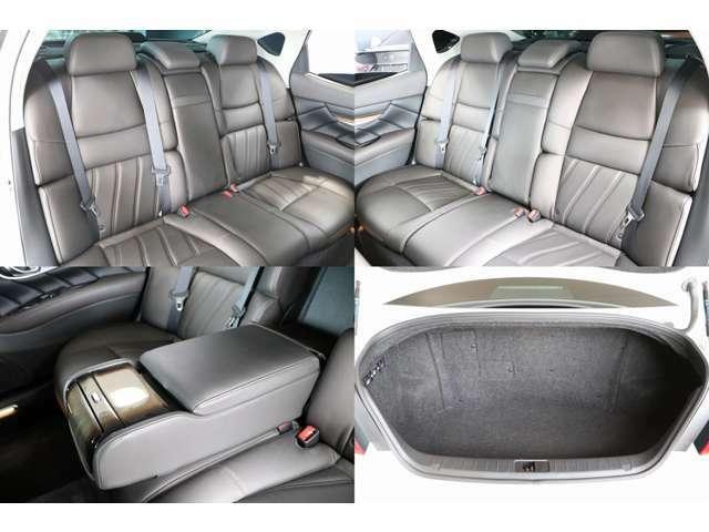 後部座席は使用感もなく程度良い車輌です♪