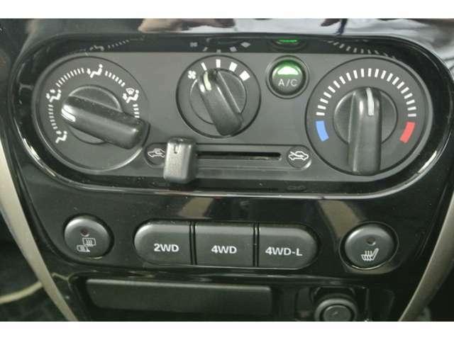 切り替え可能な4WDで本格的なオフロードを楽しみたい!