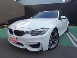 BMW M3セダン M DCT ドライブロジック 電動サンルーフ ワンオーナー 禁煙車