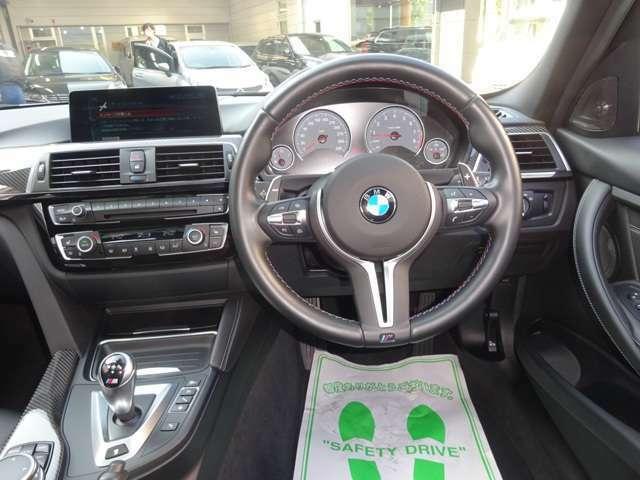 スポーティでラグジュアリーな操作性の良い運転席です。先進の安全装備で安心運転!! 各部コンディション良好で快調です。もちろんETC付きで便利!! Mテク!!