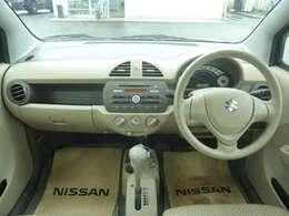 ハンドル周り:難しい操作も無く取り扱いしやすい運転席周りです