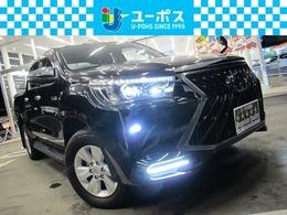 トヨタ ハイラックス 2.4 Z ディーゼルターボ 4WD 禁煙 アルパイン11インチナビ TV