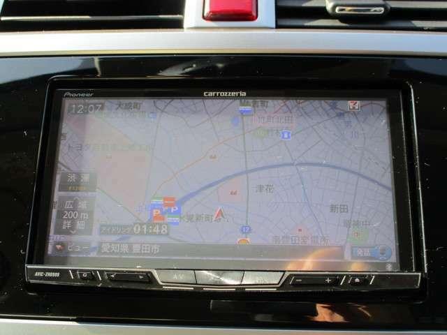 carrozzeria製ナビ AVIC-ZH0999 Bluetooth対応