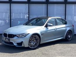 BMW M3セダン コンペティション M DCT ドライブロジック ブラックレザーカーボンルーフ
