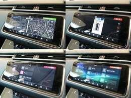ナビゲーションプロシステム(210,000円)「渋滞などの情報を受信し、自動的にリルートしてくれます。またアップルカープレイやアンドロイドオーディオにも対応致します。」