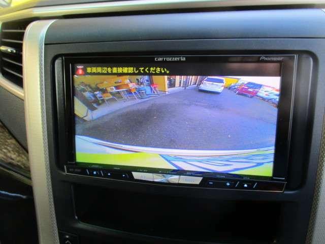 駐車の心強い味方のバックモニター!カラーモニターで運転の慣れてない方も安心です。