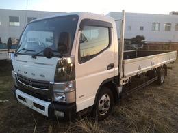 三菱ふそう キャンター ワイド超ロング 低床 積載量2000キロ ナビ・車両総重量4995