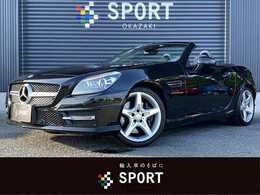メルセデス・ベンツ SLKクラス SLK200 ブルーエフィシェンシー AMGスポーツパッケージ 純正HDDナビTV Bカメ 黒革 HID