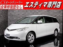 トヨタ エスティマ 2.4 G 両側電動スライドドア後席モニター8人乗ETC