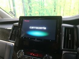 ●【新品カロッツェリア製9型SDナビ】装備!この時代必需品のナビゲーションもちろん付いてます♪フルセグTV視聴にDVD再生・ブルートゥース音楽まで再生出来ちゃいます!!