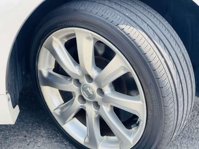 タイヤの溝などもたくさんありそのまま乗って頂きます。