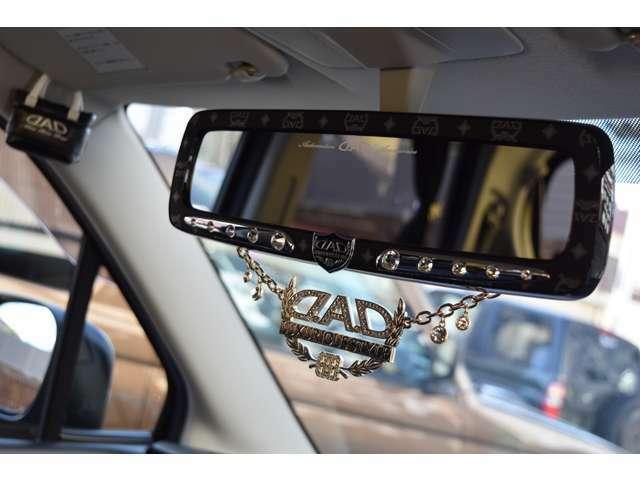 D.A.Dパーツを多数装着し、車内もとってもオシャレな空間になっておりますよ!さりげなく飾っておりますので、お客様の好きな仕様に追加カスタムもして頂けますよ!楽しいカーライフをお過ごし頂けます!