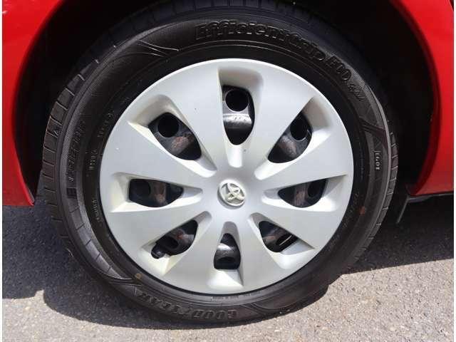 前は新品タイヤを装着予定です!