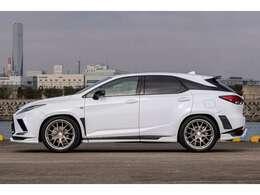 A7+ 22インチAW ブリッツ車高調 2020東京オートサロン出品車両 部品代+塗装取り付け+装着費用200万円以上