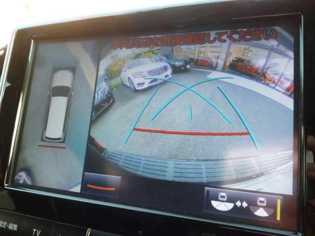 全方位カメラ付きで狭い場所でも安全に駐車できます☆